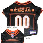 View Image 1 of Cincinnati Bengals Officially Licensed Dog Jersey