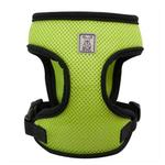 View Image 2 of Cirque Dog Harness - Lime Green Air Mesh