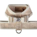 View Image 1 of Champagne Glitzerati Tinkie Dog Harness with Really Big Bow and Doe Trim by Susan Lanci
