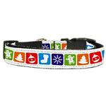 View Image 1 of Classic Nylon Christmas Dog Collar