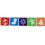 View Image 3 of Classic Nylon Christmas Dog Leash