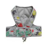 View Image 1 of Cloak & Dawggie Step N Go Mesh-Lined Mod Prints Dog Harness - Floral