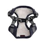 View Image 2 of Classy Comfort Dog Harness By Puppia - Grey
