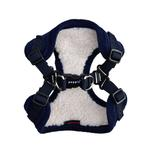 View Image 2 of Classy Comfort Dog Harness By Puppia - Navy