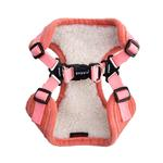 View Image 2 of Classy Comfort Dog Harness By Puppia - Peach