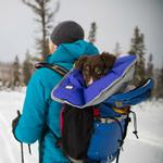View Image 6 of Clear Lake Dog Blanket by RuffWear - Huckleberry Blue