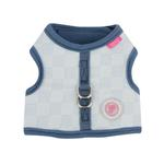 View Image 1 of Clement Pinka Dog Harness by Pinkaholic - Light Blue