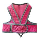 View Image 1 of Cloak & Dawggie Classic Mesh Step N Go Dog Harness - Pink