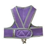 View Image 1 of Cloak & Dawggie Classic Mesh Step N Go Dog Harness - Purple