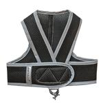 View Image 1 of Cloak & Dawggie Classic Mesh Step N Go Dog Harness - Black
