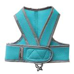 View Image 1 of Cloak & Dawggie Classic Mesh Step N Go Dog Harness - Turquoise