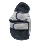 View Image 2 of Cloak & Dawggie Flannel Teacup Dog Coat - Navy