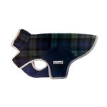 View Image 1 of Cloak & Dawggie Precision Fit Fleece Dog Jacket - Black Watch