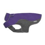 View Image 1 of Cloak & Dawggie Precision Fit Sport Dog Parka - Purple and Grey