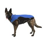 View Image 2 of Cloak & Dawggie Precision Fit Sport Dog Parka - Royal and Black