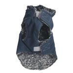View Image 2 of My Canine Kids Precision Fit Extreme Element Dog Parka - Navy