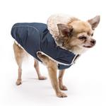 View Image 3 of My Canine Kids Precision Fit Extreme Element Dog Parka - Navy