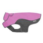 View Image 1 of Cloak & Dawggie Precision Fit Sport Dog Parka - Pink and Grey