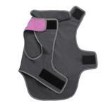 View Image 2 of Cloak & Dawggie Precision Fit Sport Dog Parka - Pink and Grey