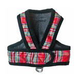 View Image 1 of Cloak & Dawggie Step-N-Go Dog Harness - Holiday Tartan
