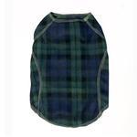 View Image 1 of Cloak & Dawggie Stretch Fleece Dog Sweater - Black Watch