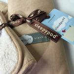 View Image 2 of Cloudpuff Luxury Pet Blanket by Sleepypod - Champagne