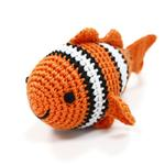 View Image 1 of Clown Fish Crochet Dog Toy by Dogo