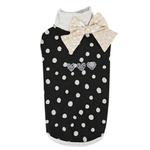 View Image 1 of Coco Turtleneck Cat Shirt by Catspia - Black