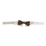 View Image 3 of Colin Polka Dot Dog Shirt Collar & Bow Tie
