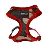 View Image 1 of Colonel Dog Harness by Puppia - Wine Camo