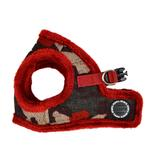 View Image 3 of Colonel Vest Dog Harness by Puppia - Wine Camo