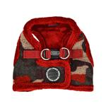 View Image 1 of Colonel Vest Dog Harness by Puppia - Wine Camo