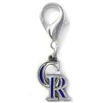 View Image 1 of Colorado Rockies Logo Dog Collar Charm