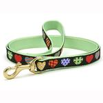 View Image 1 of Colorful Hearts Dog Leash by Up Country