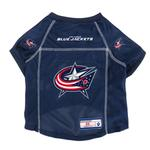 View Image 1 of Columbus Blue Jackets Dog Jersey - Navy Blue