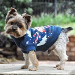 View Image 2 of Holiday Reindeer Ugly Dog Sweater by Doggie Design
