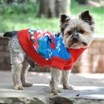 View Image 4 of Holiday Snowman Ugly Dog Sweater by Doggie Design
