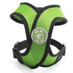 View Image 1 of Comfort X Dog Harness by Gooby - Green