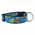 View Image 1 of Comic Sounds Wide Clip Adjustable Dog Collar
