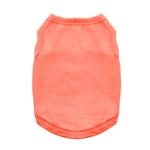 View Image 1 of Cotton Dog Tank by Doggie Design - Coral