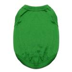 View Image 1 of Cotton Dog Tank by Doggie Design - Emerald Green