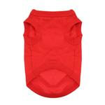 View Image 2 of Cotton Dog Tank by Doggie Design - Flame Scarlet Red