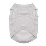 View Image 2 of Cotton Dog Tank by Doggie Design - Glacier Gray