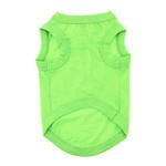 View Image 2 of Cotton Dog Tank by Doggie Design - Green Flash