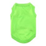 View Image 1 of Cotton Dog Tank by Doggie Design - Green Flash
