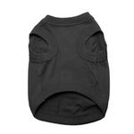 View Image 2 of Cotton Dog Tank by Doggie Design - Jet Black