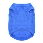 View Image 2 of Cotton Dog Tank by Doggie Design - Nautical Blue