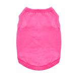 View Image 1 of Cotton Dog Tank by Doggie Design - Raspberry Sorbet