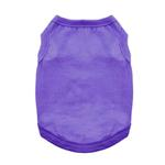 View Image 1 of Cotton Dog Tank by Doggie Design - Ultra Violet