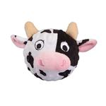 View Image 1 of Country Critter Faballs Dog Toy - Cow